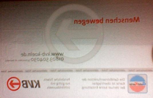 RFID in KVB bzw. VRS-Tickets?