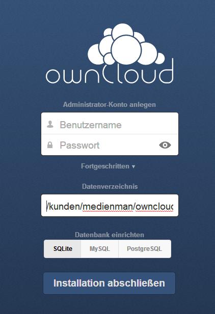 Anleitung: Wie installiere ich Owncloud