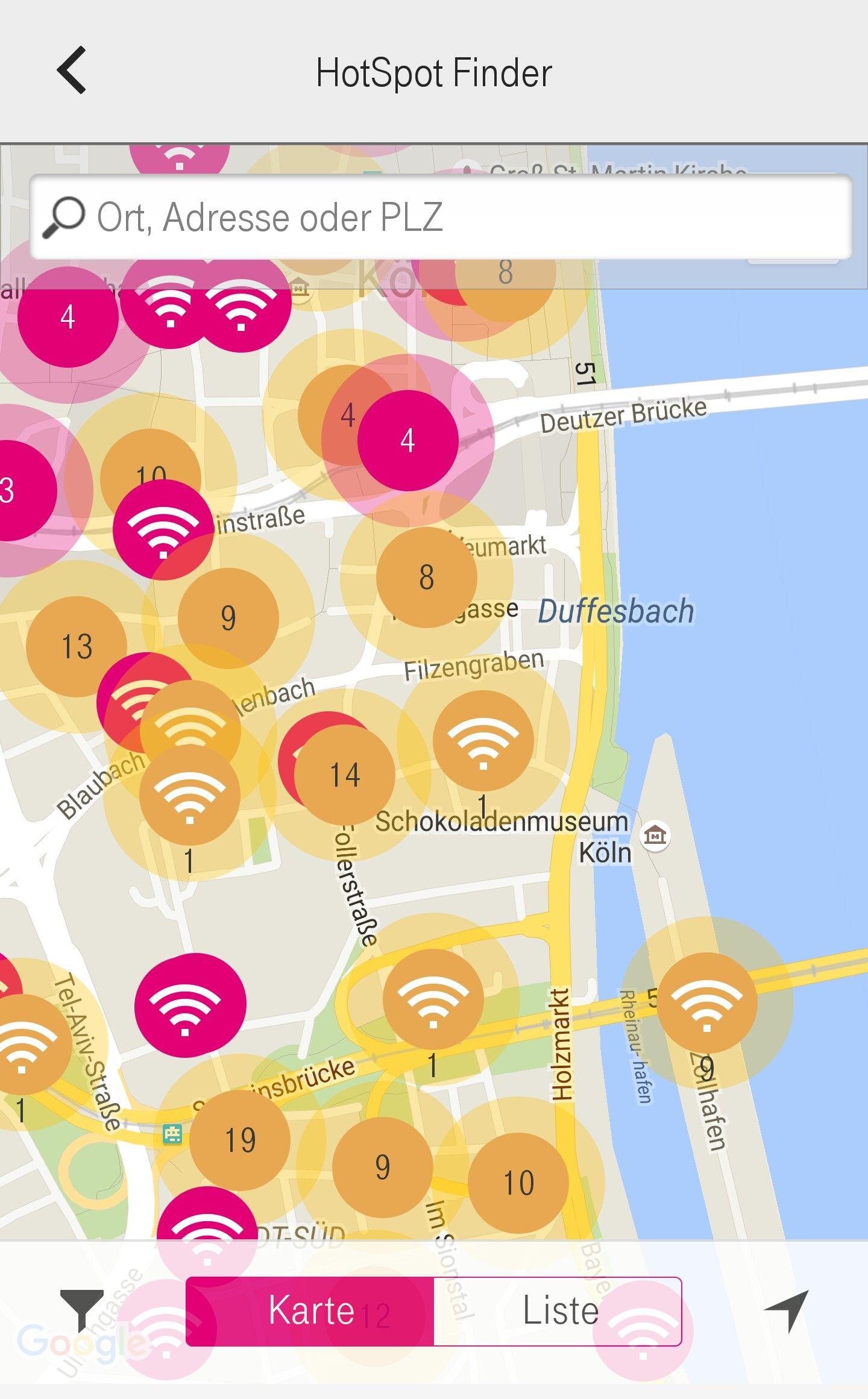 [AndroidApp] Telekom Online-Manager oder der automatische Login in Telekom-HotSpots