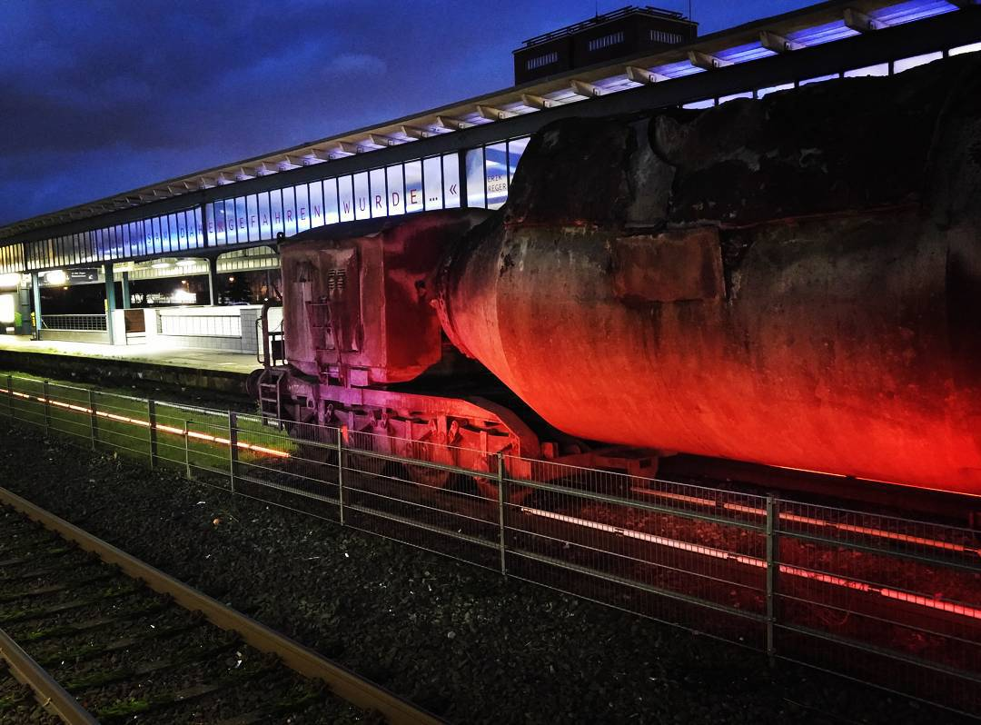 [Instagramfoto] #Museum #Oberhausen #Hauptbahnhof #Bahn #Museumsgleis #Industriekultur
