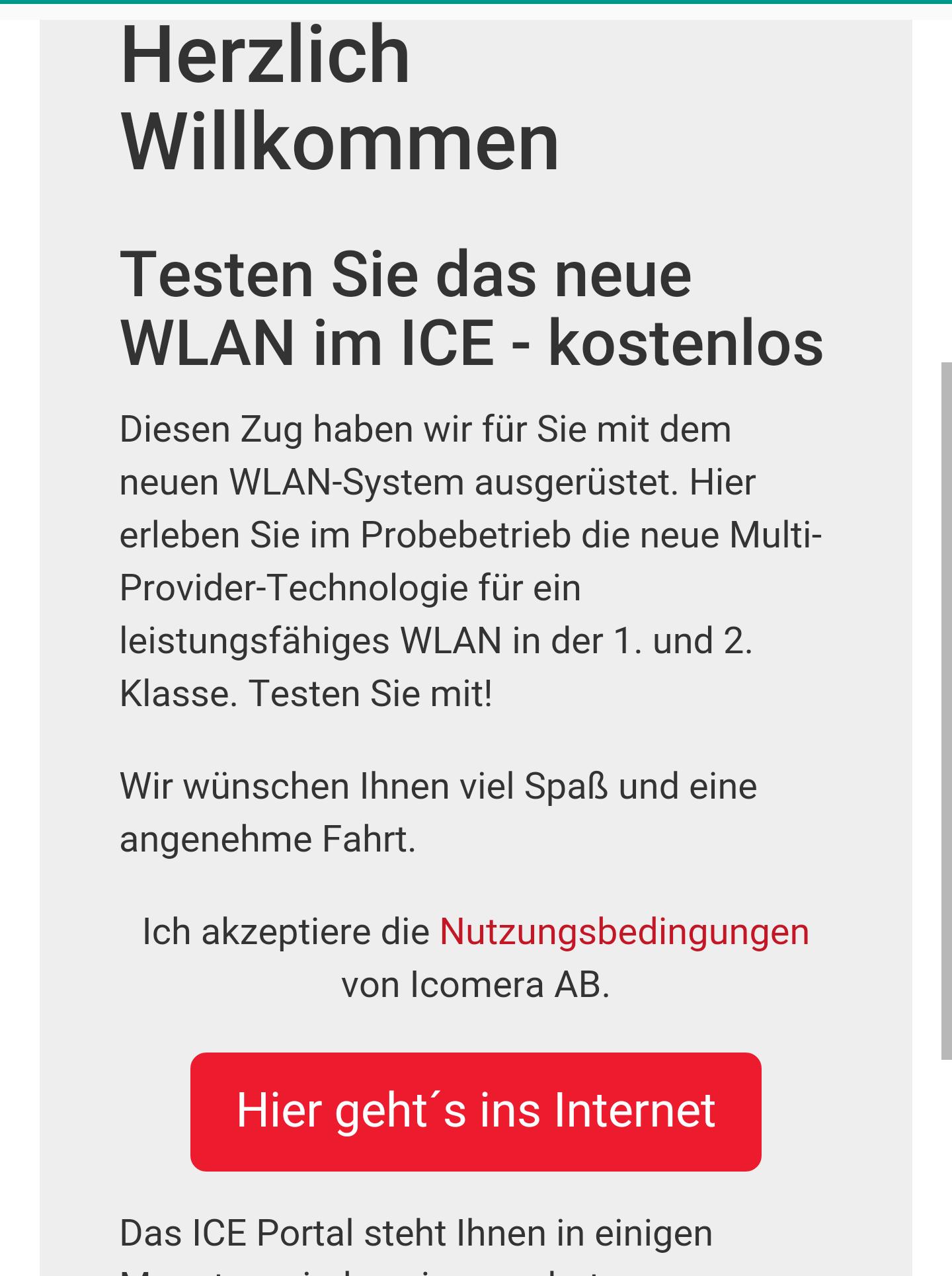 [WIFIOnICE] Das neue WLAN im ICE