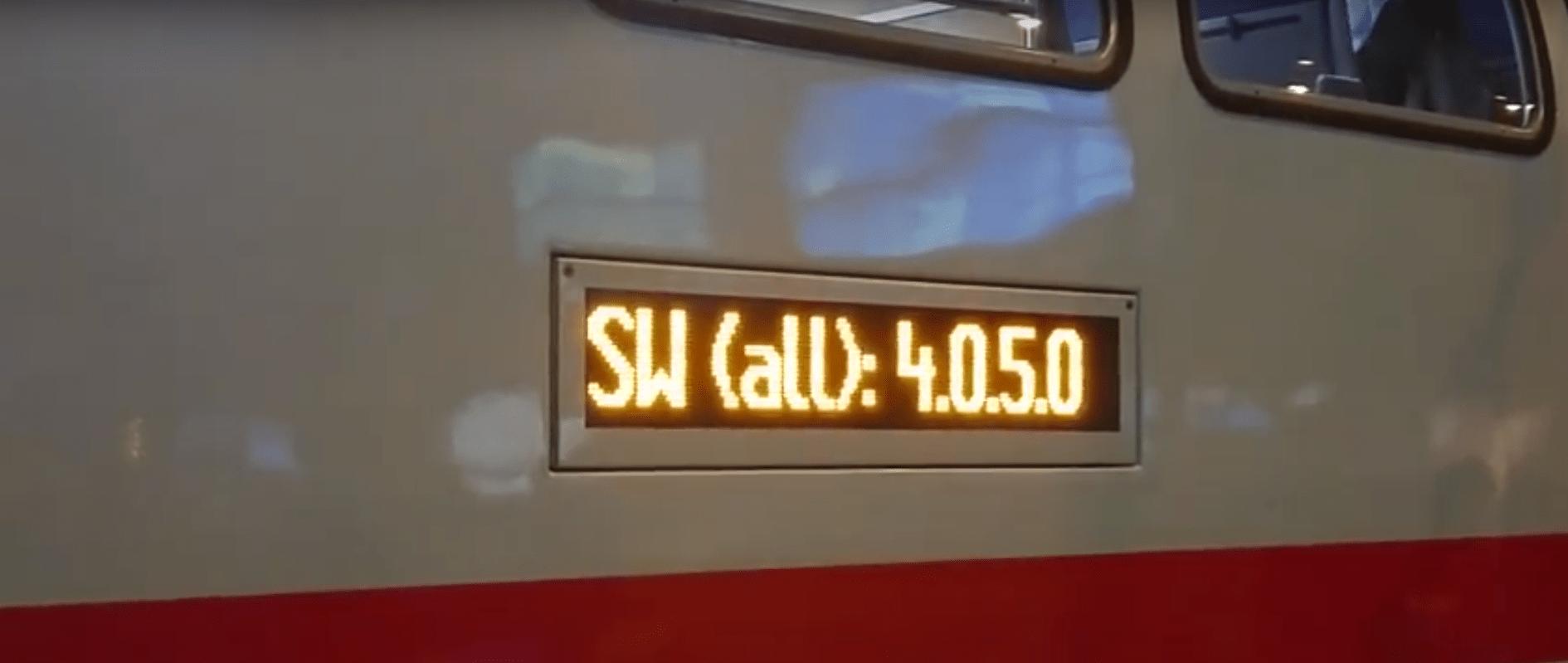 IC2 (der neue Intercity) ist auskunftsfreudig