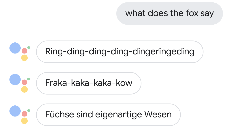 Neue Dinge, die man den Google-Assistant fragen oder sagen kann