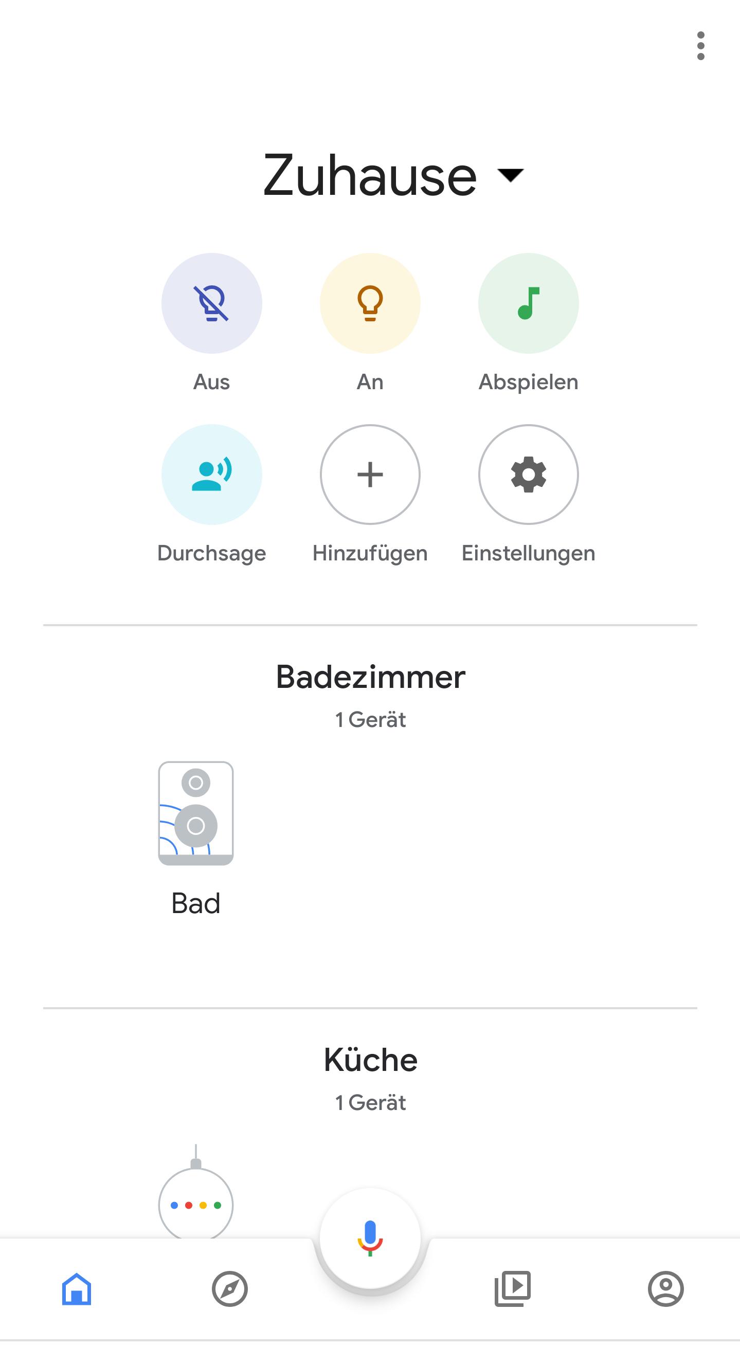 Google Home App: alles einfacher steuern